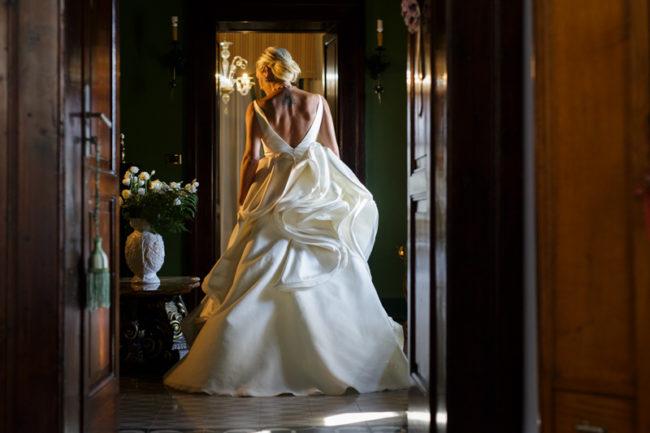Matrimonio atelier Corso Mazzini Terry Saponaro abito Antonio Riva
