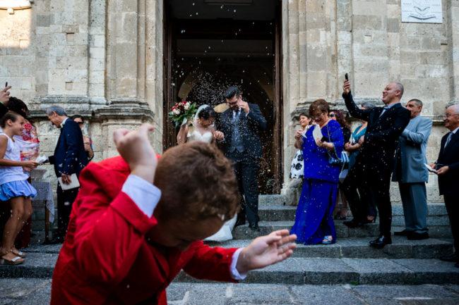 Matrimonio duomo Squillace Catanzaro lancio riso