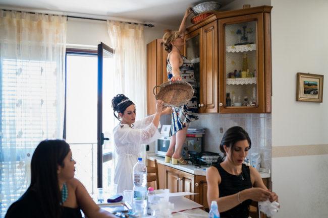 Matrimonio reportage Catanzaro famiglia