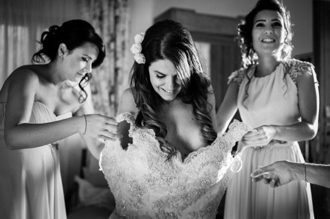 matrimonio Tenuta Calivello preparazione sposa