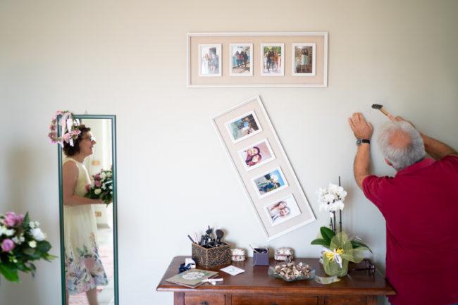 Matrimonio minimal reportage genitori sposi